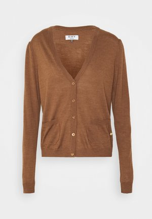 WHITNEY - Cardigan - caramello