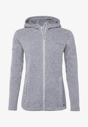 Fleece jacket - grey melange