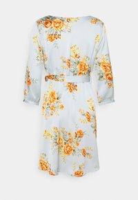 Vila - VIJOSE LUNA SHORT DRESS - Denní šaty - ashley blue - 1