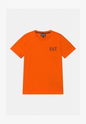 EA7 - Camiseta estampada - orange