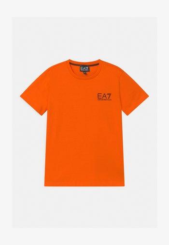 EA7 - T-shirt print - orange