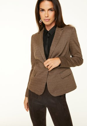 Blazer - brown glencheck