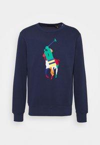 Polo Ralph Lauren - BIG PONY FLEECE SWEATSHIRT - Sweatshirt - newport navy - 0