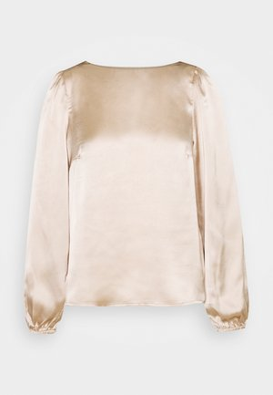 VMMADDIE BUTTON  - Long sleeved top - gilded beige