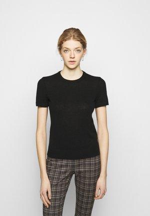 BASIC TEE FEATHER - Basic T-shirt - black