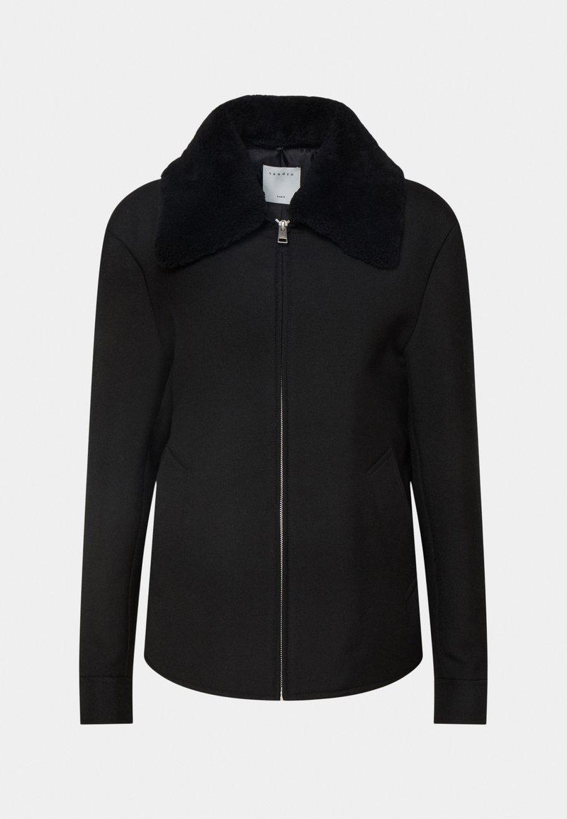 sandro - HERON - Light jacket - noir
