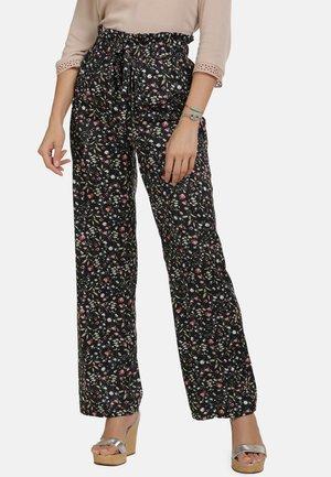 Trousers - flower print