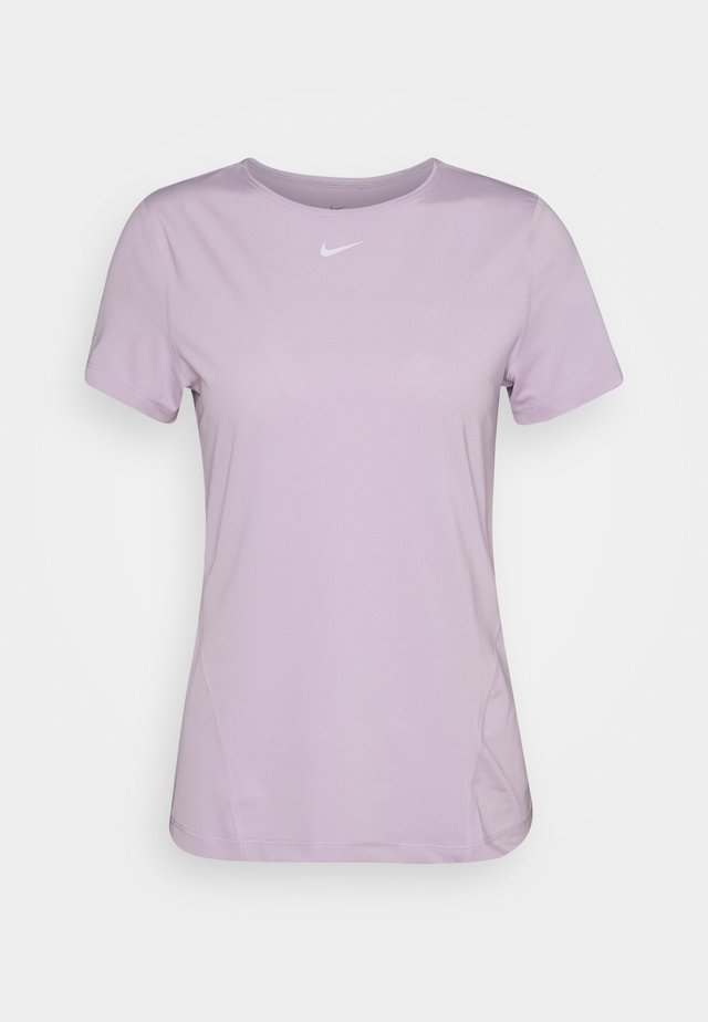 ALL OVER - T-shirt basic - iced lilac/white
