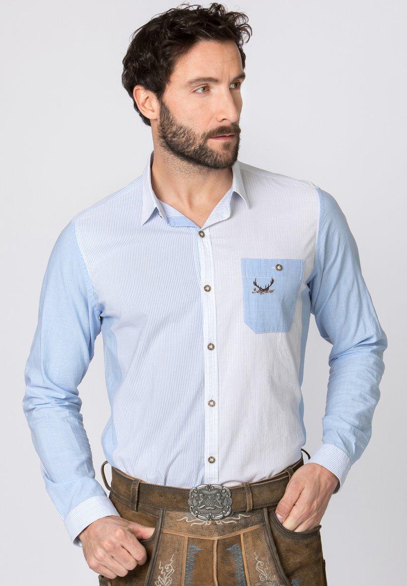 Stockerpoint - ROMAN - Shirt - blue