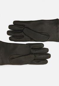 Versace - GLOVES UNISEX - Gloves - kaki/gold-coloured - 1