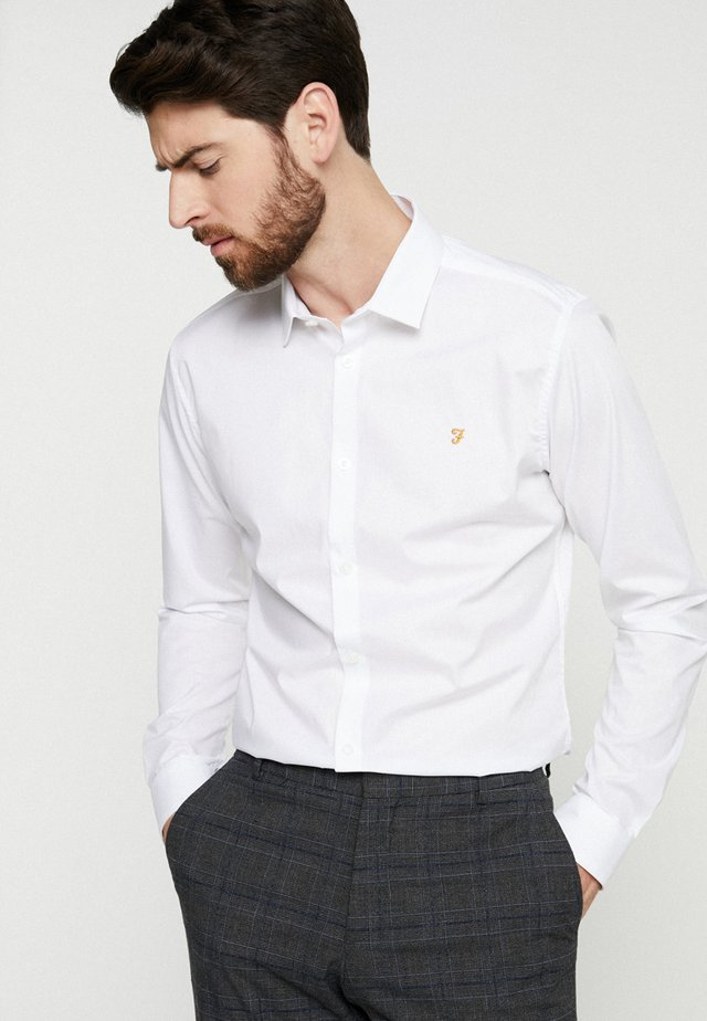 HANDFORD SLIM FIT - Camicia elegante - white