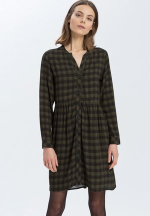 Day dress - dark-green