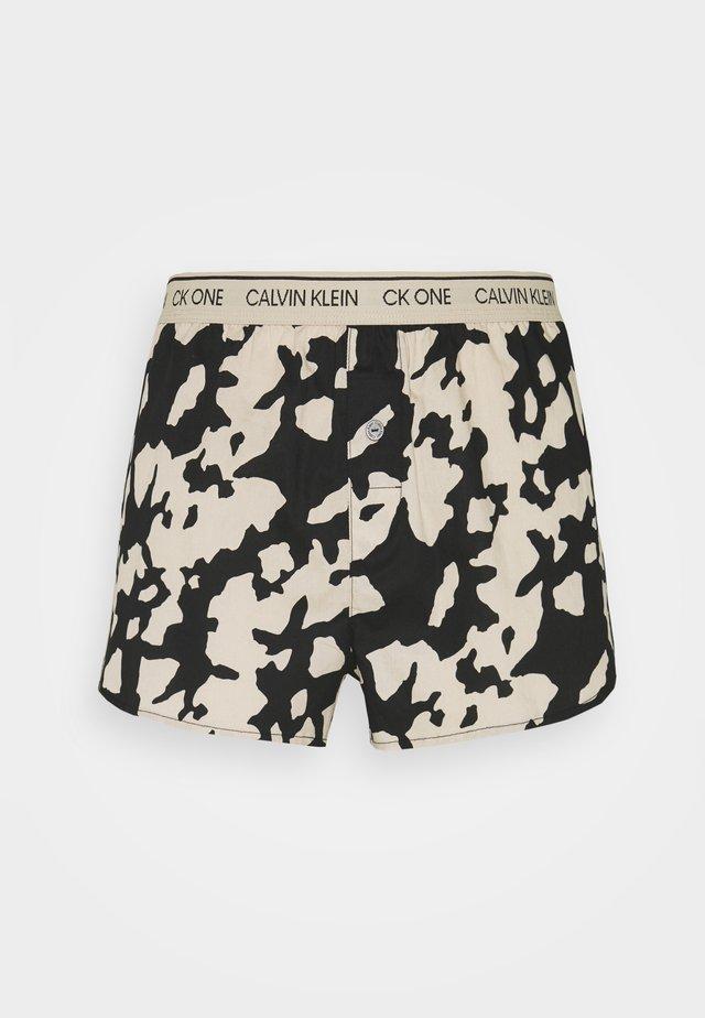 SLEEP SHORT - Pyjama bottoms - charming khaki
