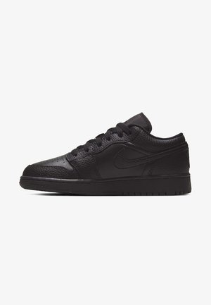 AIR JORDAN 1 LOW - Trainers - black