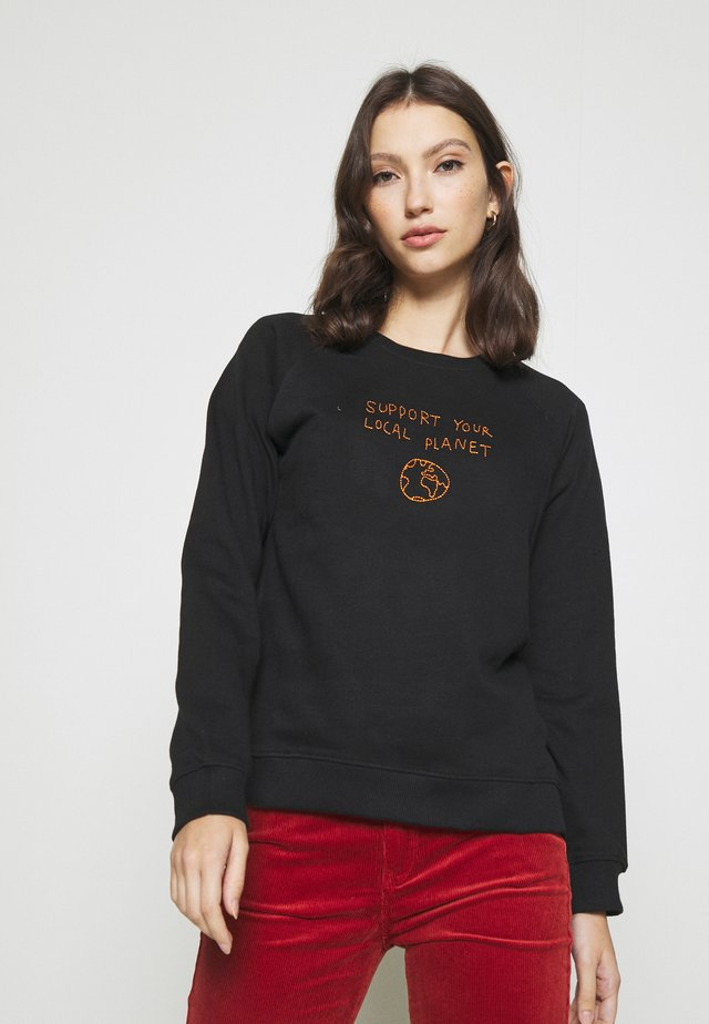 YSTAD LOCAL PLANET - Sweater - black