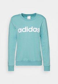adidas Performance - Sweatshirt - mint ton/white - 5