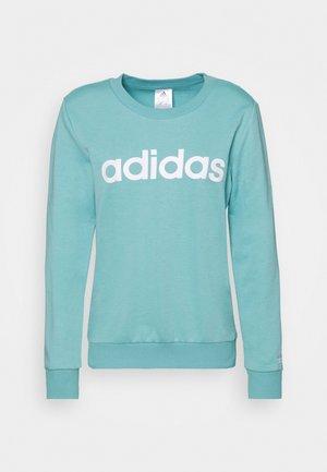 Sweatshirt - mint ton/white