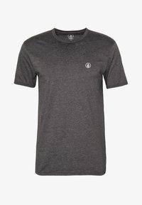 Volcom - CIRCLE BLANKS HTH SS - Basic T-shirt - anthracite - 3