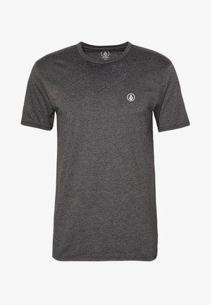 CIRCLE BLANKS HTH SS - Basic T-shirt - anthracite