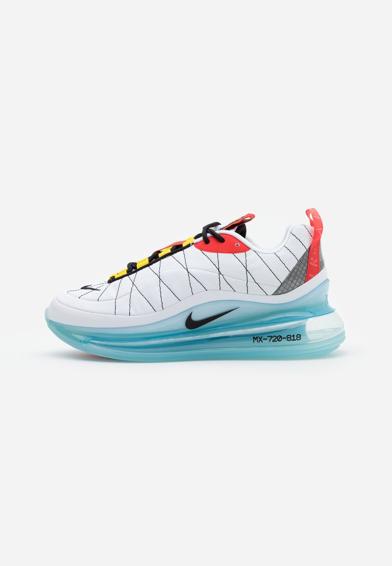 Nike Sportswear - MX-720-818 - Trainers - white/black/speed yellow/chile red/bleached aqua