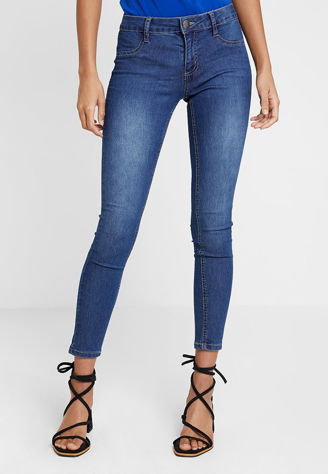 MID RISE - Jeansy Skinny Fit - mid blue