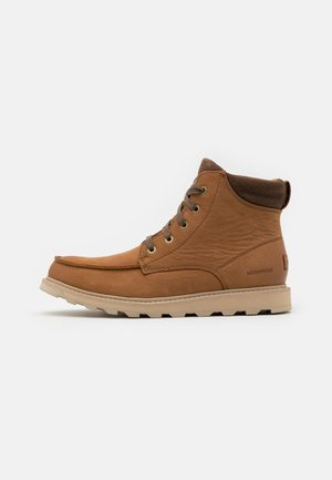 MADSON II MOC TOE WP - Lace-up ankle boots - velvet tan