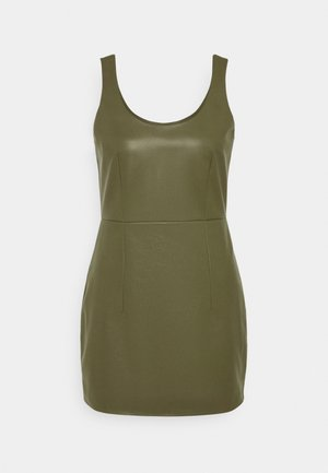 HANNA DRESS - Cocktail dress / Party dress - khaki