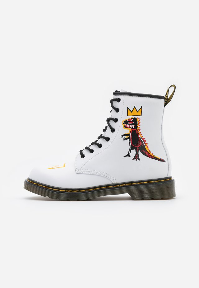 1460 BASQUIAT - Classic ankle boots - white