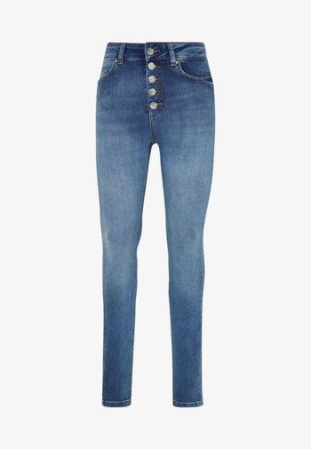 ONLBLUSH LIFE BUTTON - Jeans Skinny Fit - medium blue denim
