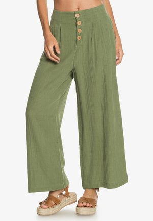 DREAM STORY - Trousers - vineyard green