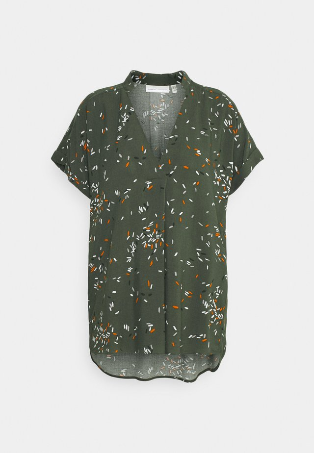 VIKSA  - T-shirt basic - beetle green