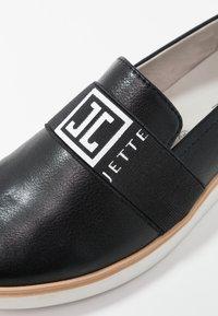 JETTE - Slip-ons - black - 2