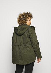 Zizzi - JACKET - Winter jacket - forest night - 3