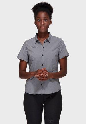 AADA - Button-down blouse - black-white