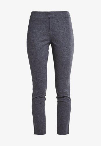 Trousers - kohle meliert