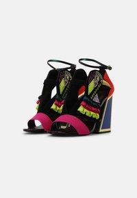 Kat Maconie - AYA - High heeled sandals - black/multi - 2