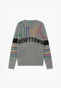 Benetton - FUNZIONE BOY - Trui - grey - 0