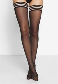 Swedish Stockings - MIRA PREMIUM STAY UP - Over-the-knee socks - black - 0