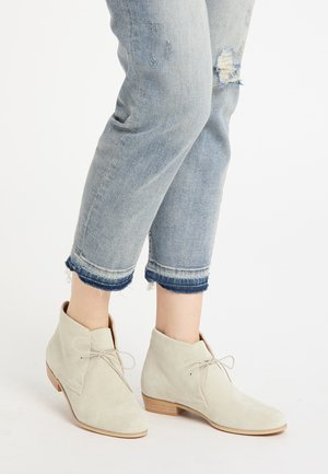 Ankle boot - wollweiss