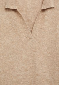 Mango - POLIN - Pletené šaty - marron moyen - 7