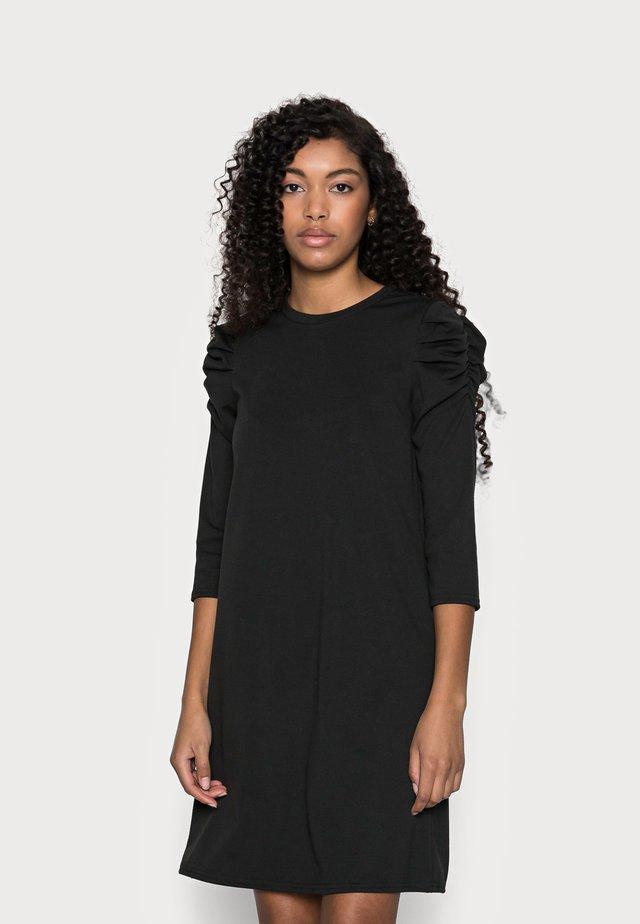 ONLVIOLA DRESS PETIT - Žerzejové šaty - black