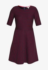 Esprit - STRIPED DRESS - Day dress - navy - 3