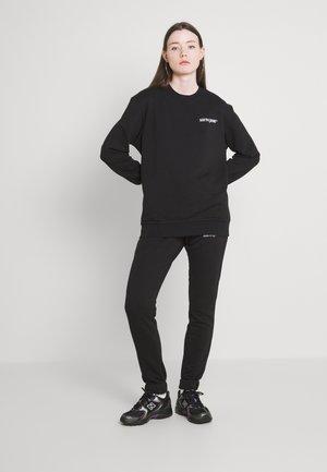 JOGGING SET - Sweatshirt - black