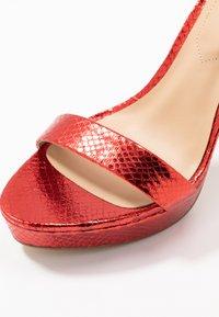 ALDO - MADALENE - High heeled sandals - other red - 2