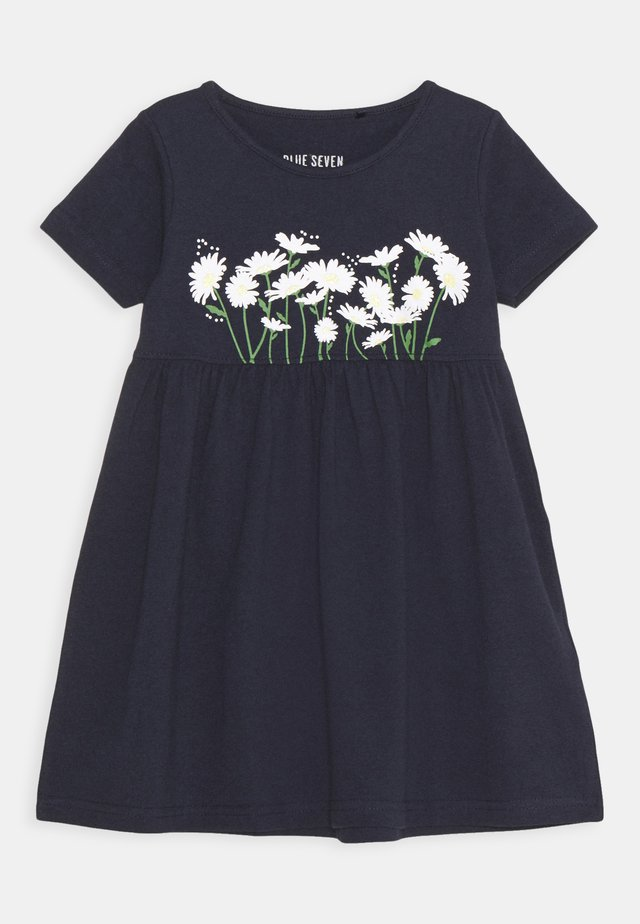 SMALL GIRLS DRESS DAISY - Jersey dress - nachtblau