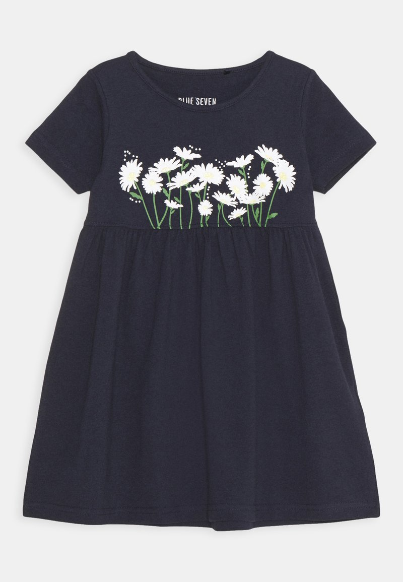 Blue Seven - SMALL GIRLS DRESS DAISY - Jersey dress - nachtblau