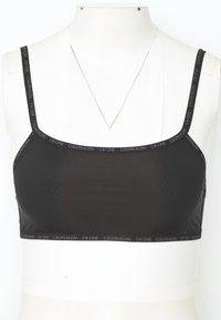 Calvin Klein Underwear - ONE SLEEK UNLINED BRALETTE 2 PACK - Bustier - black - 1