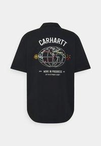 Carhartt WIP - CARTOGRAPH - Vapaa-ajan kauluspaita - black - 1