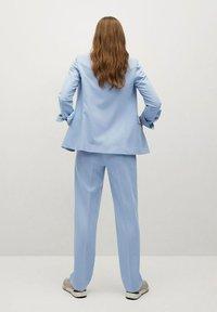 Mango - GRETA - Trousers - hemelsblauw - 2
