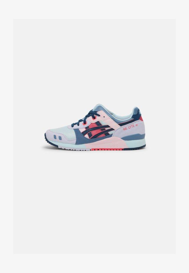 GEL-LYTE III UNISEX - Sneakersy niskie - aqua/mako blue